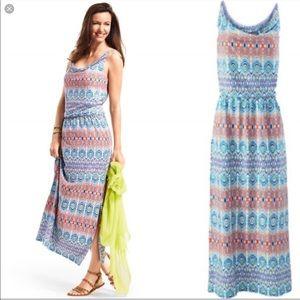 ✅ 🆕 CAbi Aztec Maxi Dress NWOT